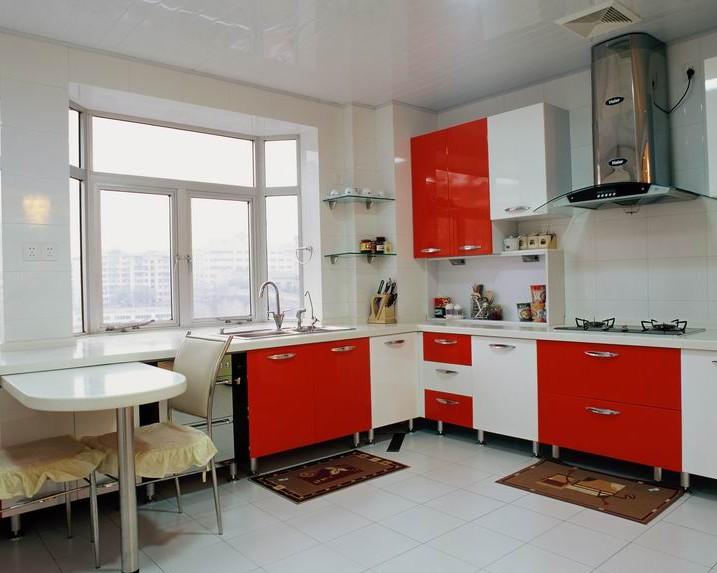 韓式風格廚房裝修效果圖