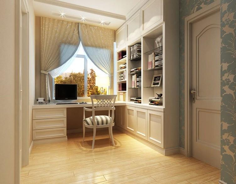 欧式风格书房装修效果图