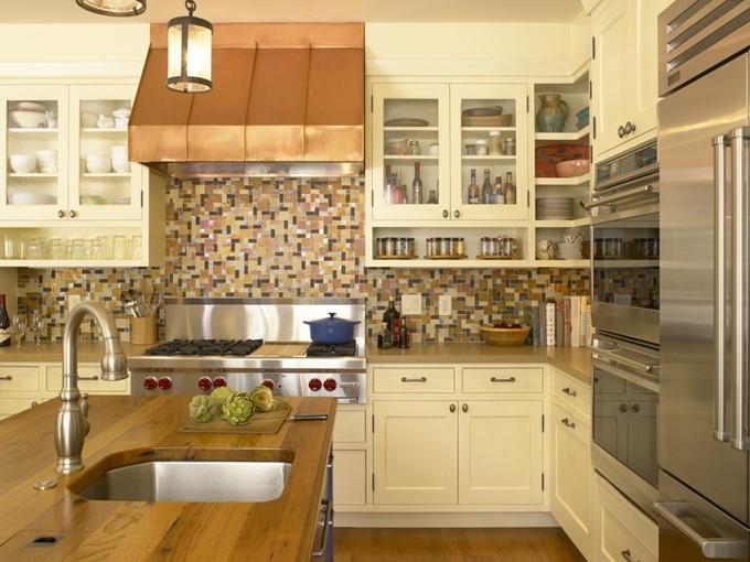 欧式风格厨房装修效果图