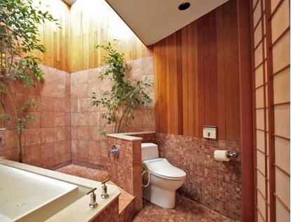 小资卫生间 彩色瓷砖设计_装修效果图_好工长网装修