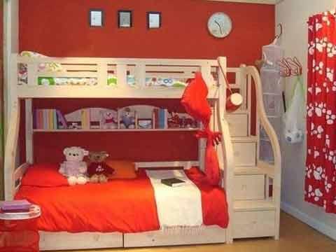 儿童房双层床设计法