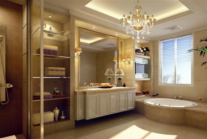 欧式别墅卫生间 奢华装修