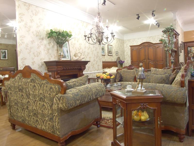 欧式古典客厅沙发装修图