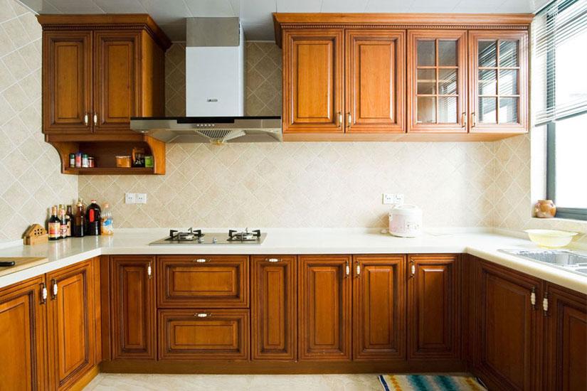 中式风格厨房装修图图片