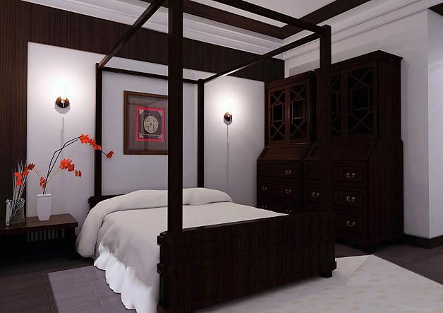 新中式儿童房装修图