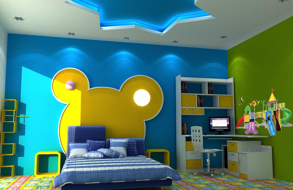 复式楼创意儿童房装修效果图
