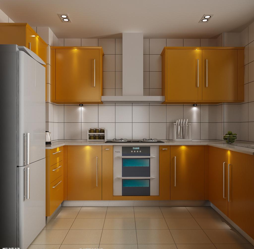简约三室厨房装修效果图