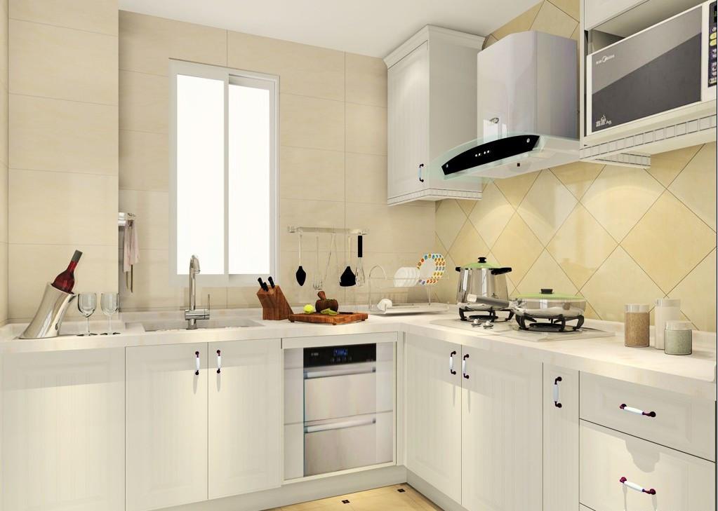 欧式三室厨房装修效果图