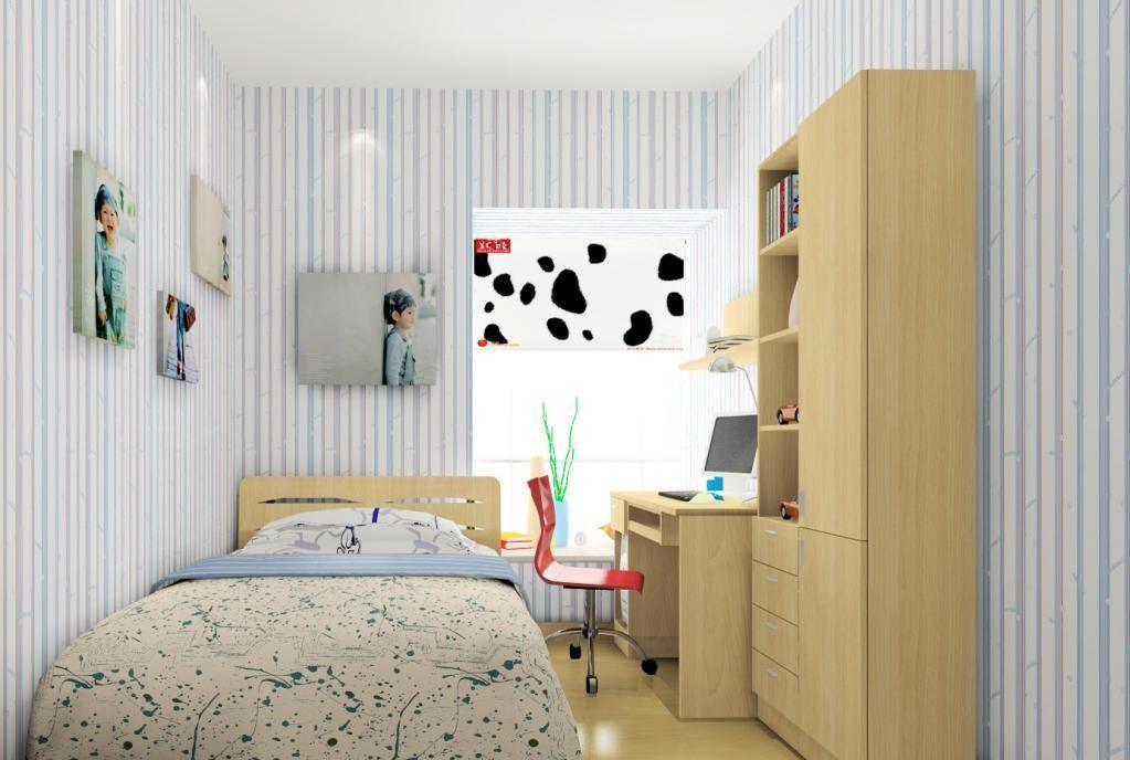 简约现代温馨儿童房装修效果图