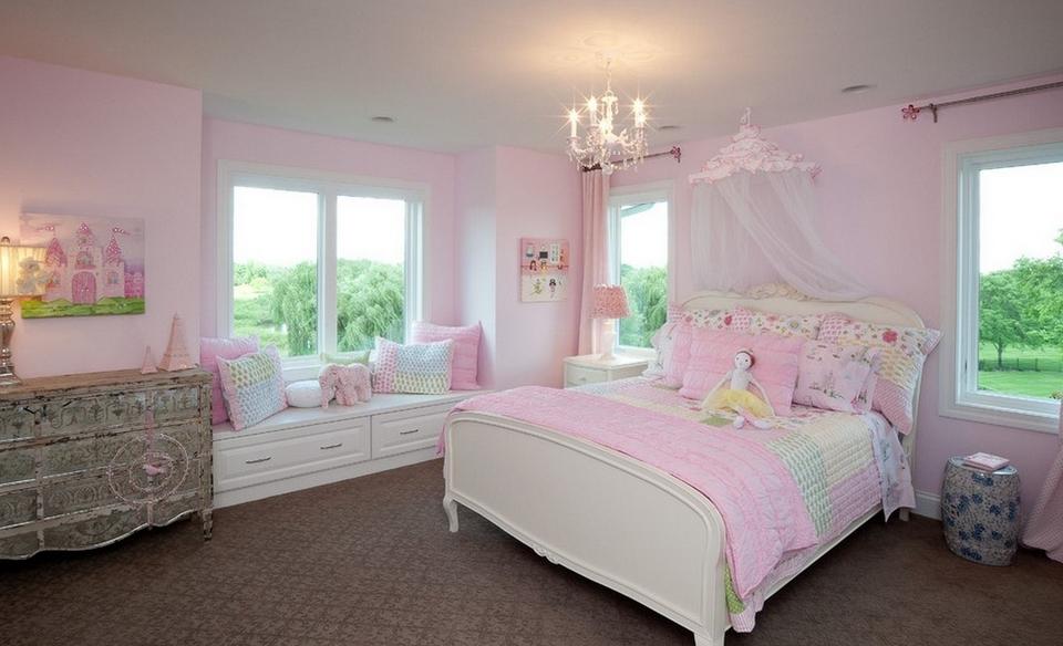 韩式风格卧室装修效果图