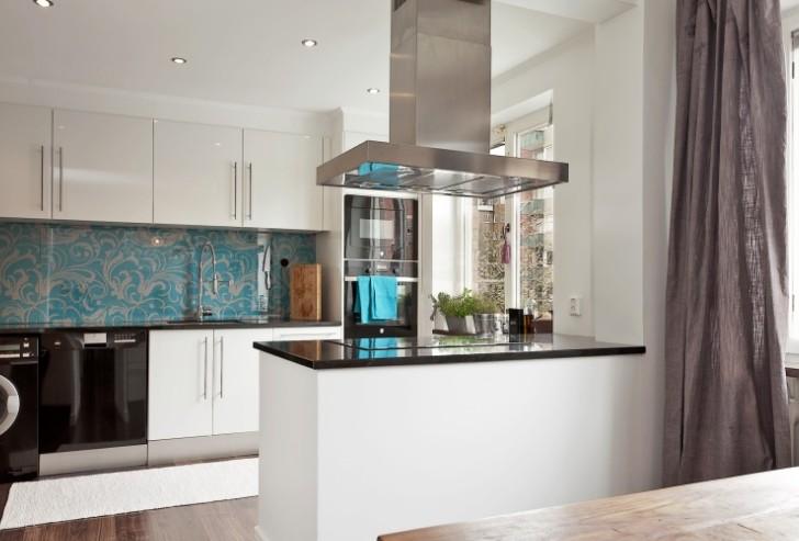 现代风格小别墅厨房装修效果图