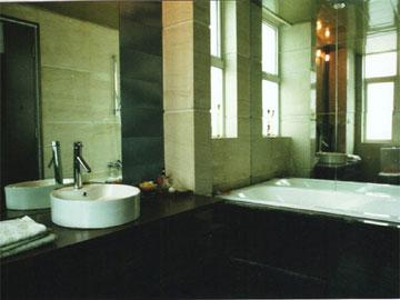 现代风格卫生间洗手池设计效果图