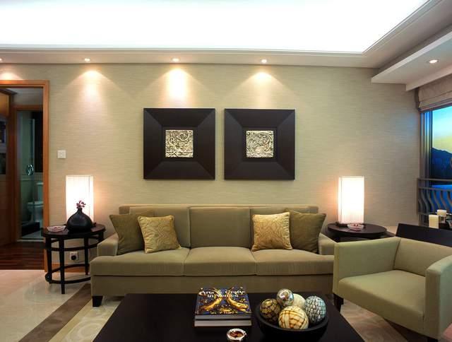 客厅简约风格灯光设计效果图