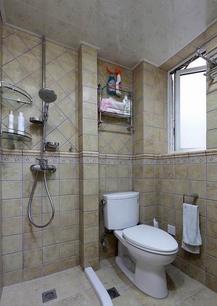 整体小面积卫生间装修效果图