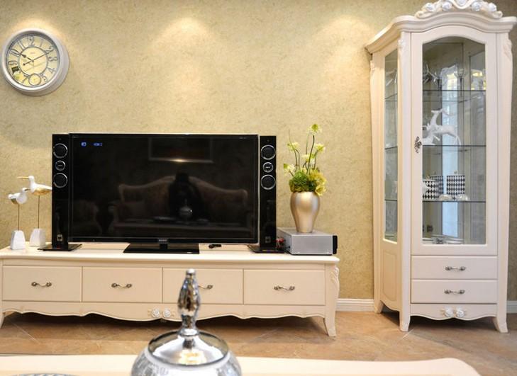 欧式电视柜效果图片