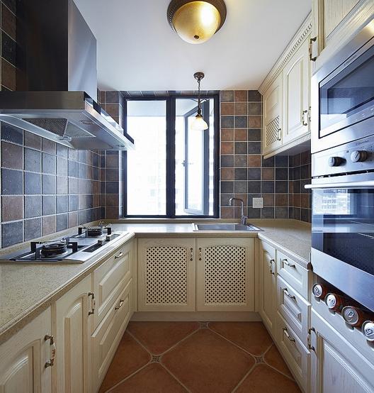 地中海风格小厨房装修效果图