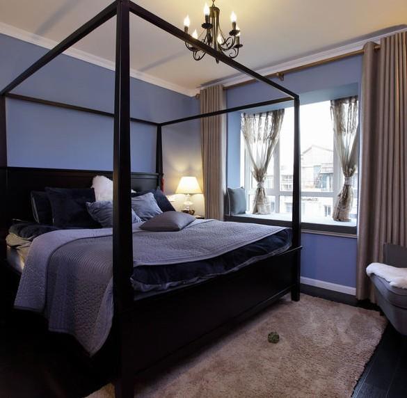 现代简装主卧室装修效果图大全