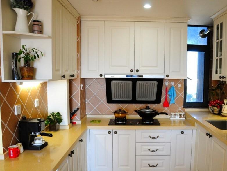u型整体小厨房装修效果图大全