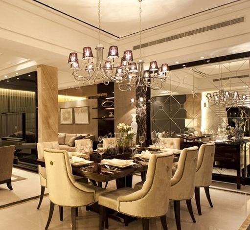 欧式公寓餐厅装修效果图