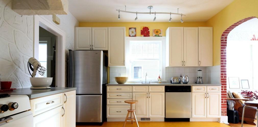 欧式大户型装修厨房设计效果图