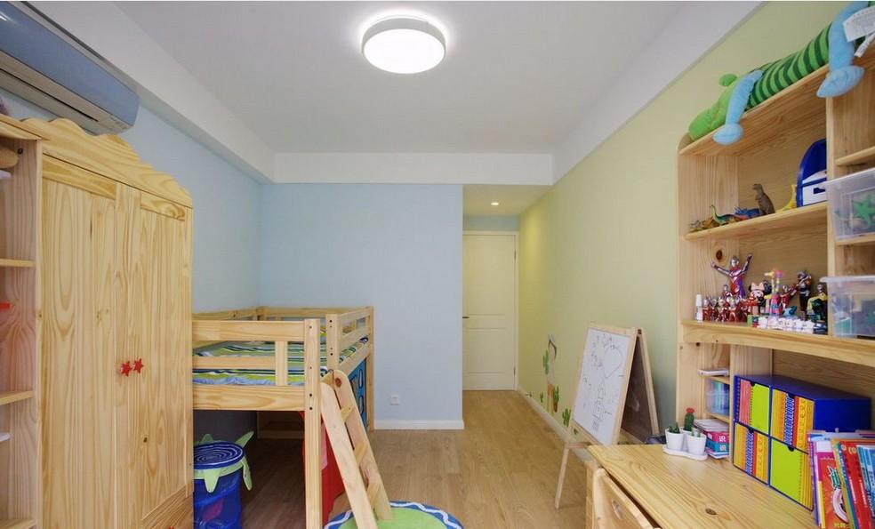 最新2014两居室装修儿童房效果图