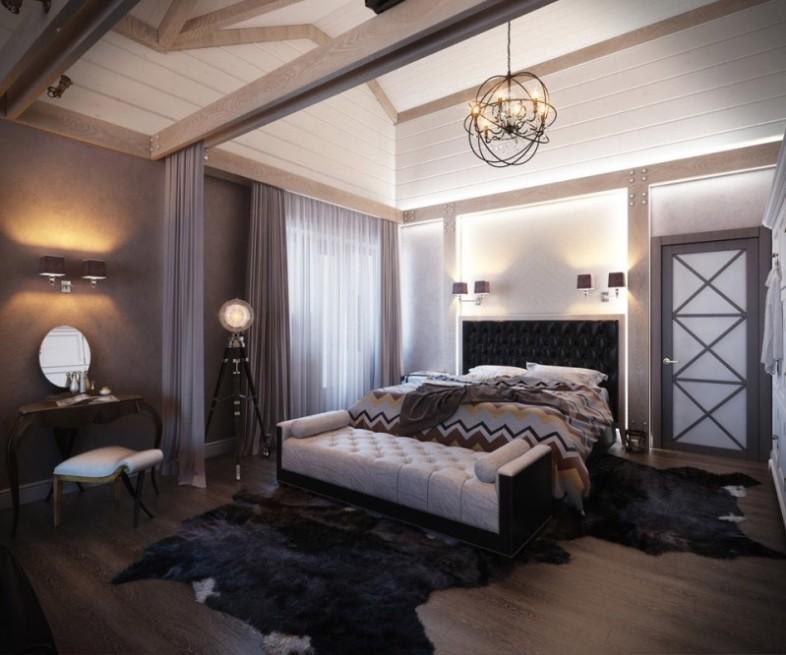 现代卧室装修效果图大全2102图片卧室吊顶效果图 高清图片