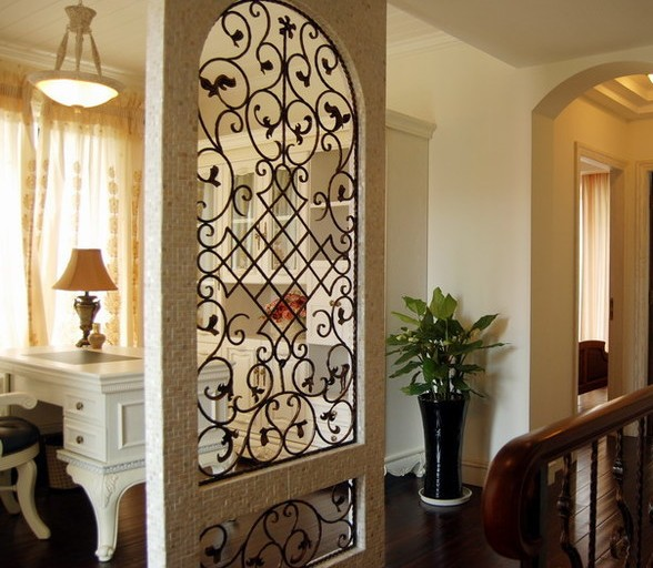 大户型客厅隔断布置装修效果图