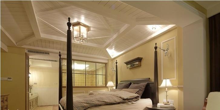 别墅卧室吊顶装修设计_装修效果图_好工长网装修效果图