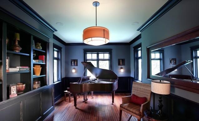 大户型书房装修效果图欣赏