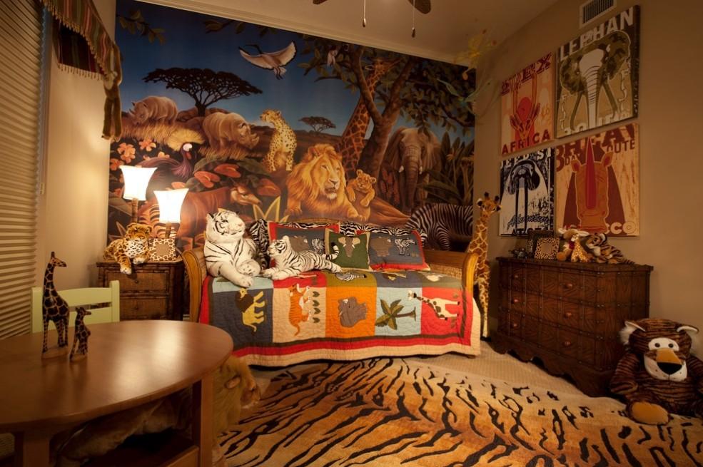 欧式三室儿童房设计装修效果图