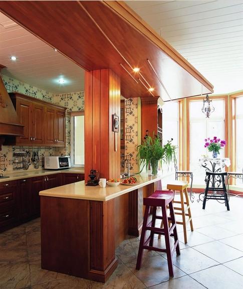 复式楼厨房家装图片效果图