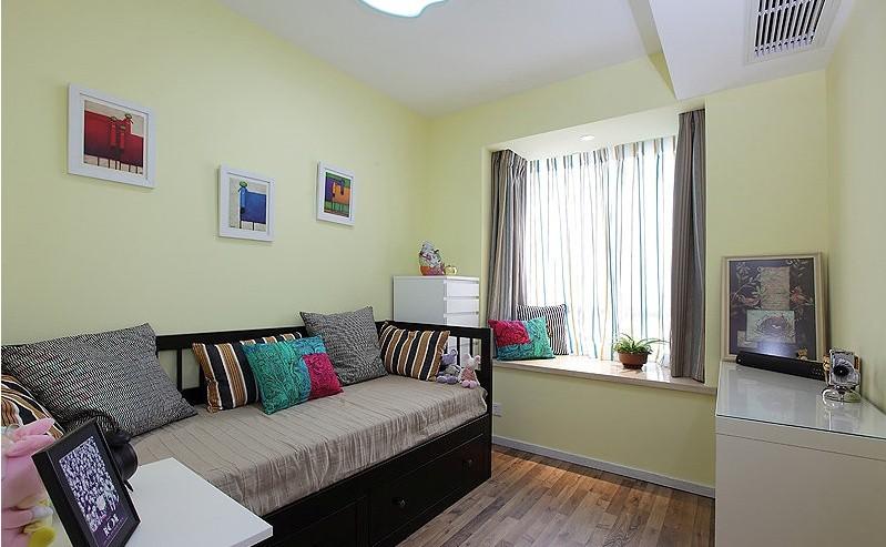 一居室客厅最新装修设计图