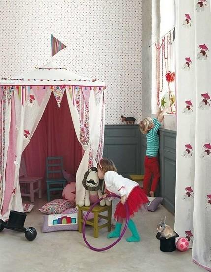 大户型儿童房最新韩式装修设计图