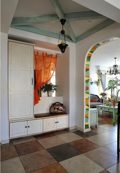别墅玄关地中海风格家装效果图