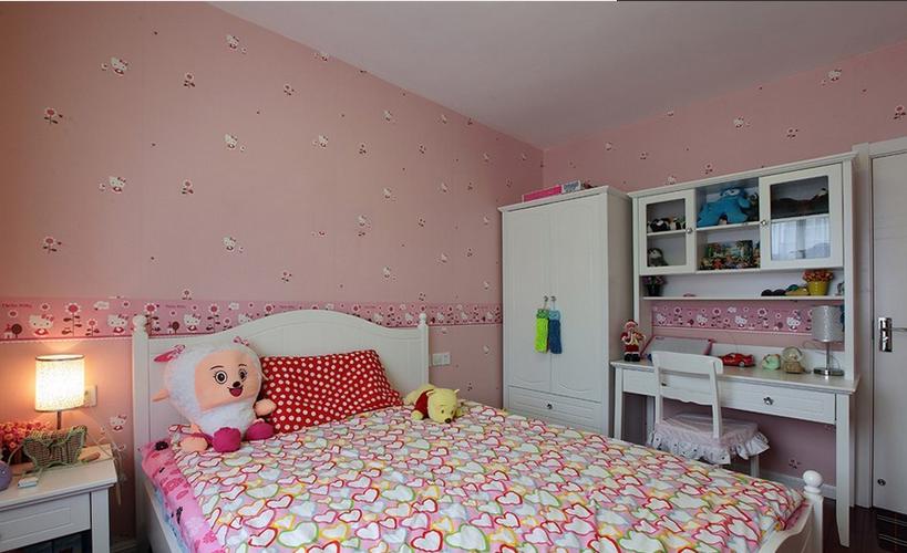 创意家居儿童房家具摆放图片