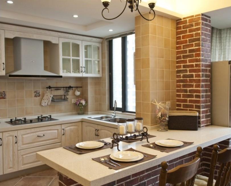 西式厨房装修效果图