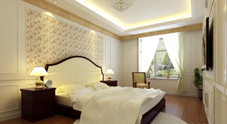 大户型个性欧式风格卧室装修效果图