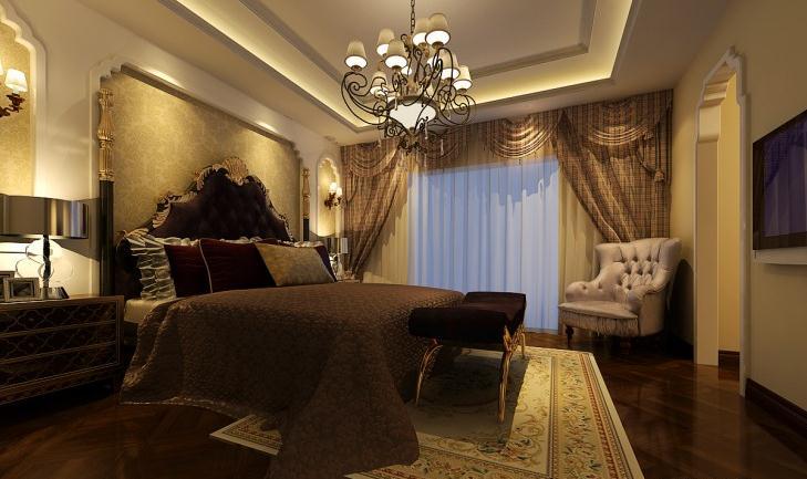 小户型个性欧式风格卧室装修效果图