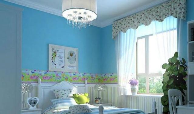 小户型简约欧式儿童房装修效果图