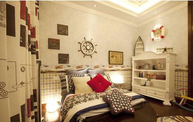 公寓暖色调欧式儿童房装修效果图