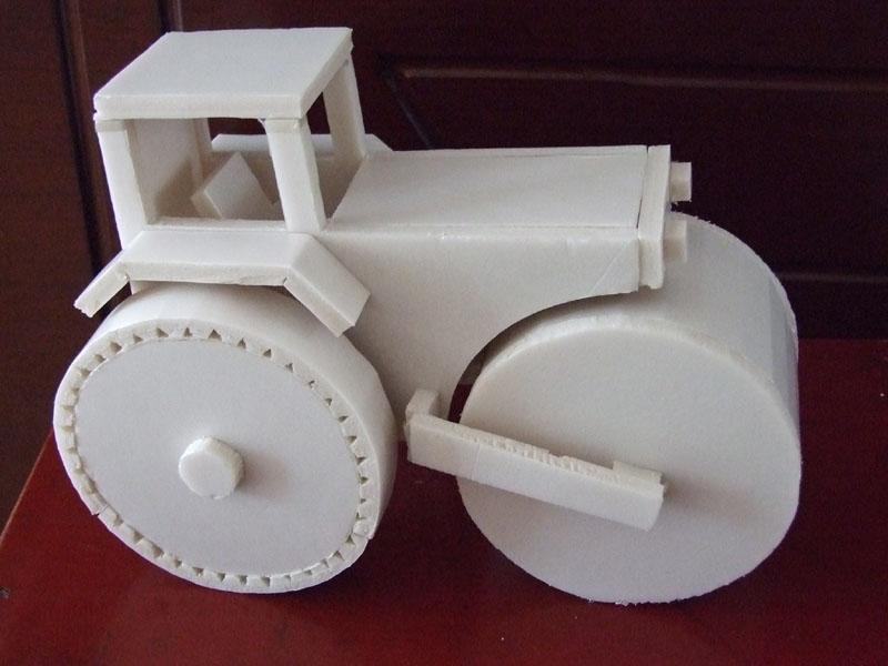 手工制作小汽车之泡沫小汽车