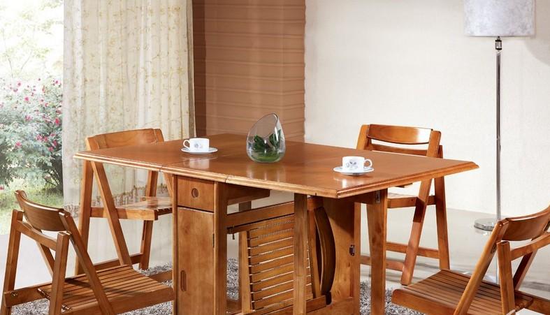 折叠餐桌图片欣赏 折叠餐桌的尺寸