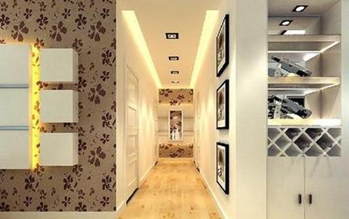 2014走廊吊顶装修效果图