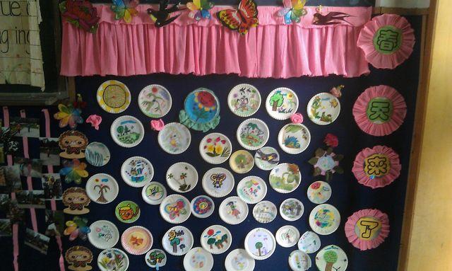 幼儿园主题墙饰设计图片