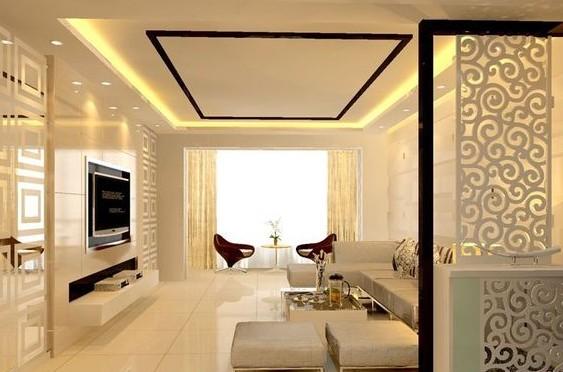【现代简约装修风格】现代简约客厅装修效果图欣赏