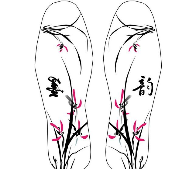 鞋垫花样图案大全 绣花鞋垫方法介绍