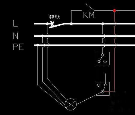 双控开关怎么接 双控开关接线图示例图片