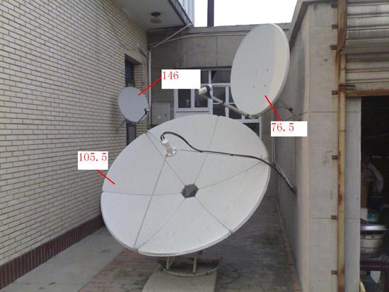 卫星大锅怎么调试图片