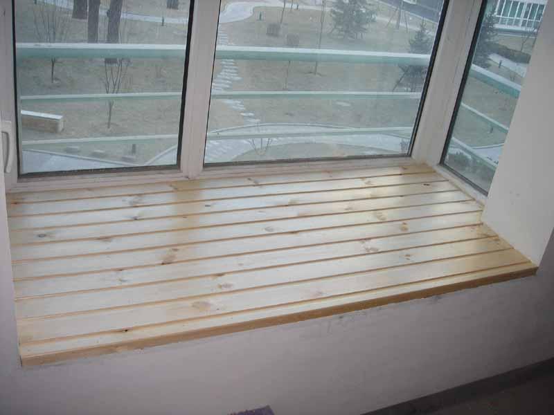 阳台飘窗木地板