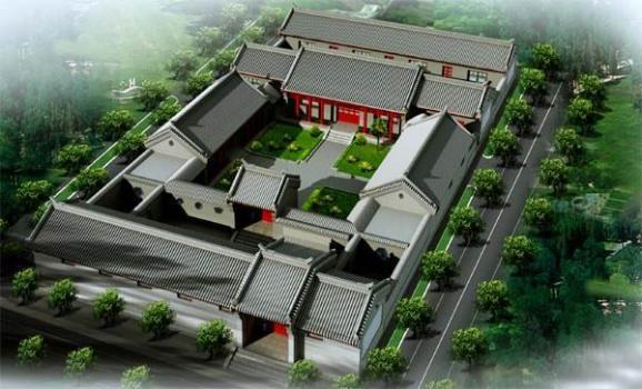 北京四合院的特点